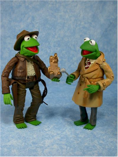 Adventure Kermit Muppets action figure from Palisades