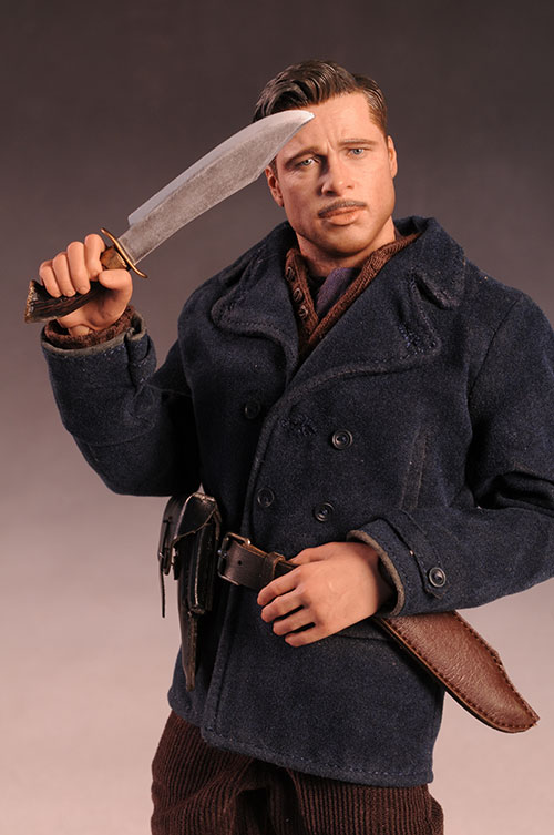 Inglorious Basterds Aldo Raine action figure by Hot Toys