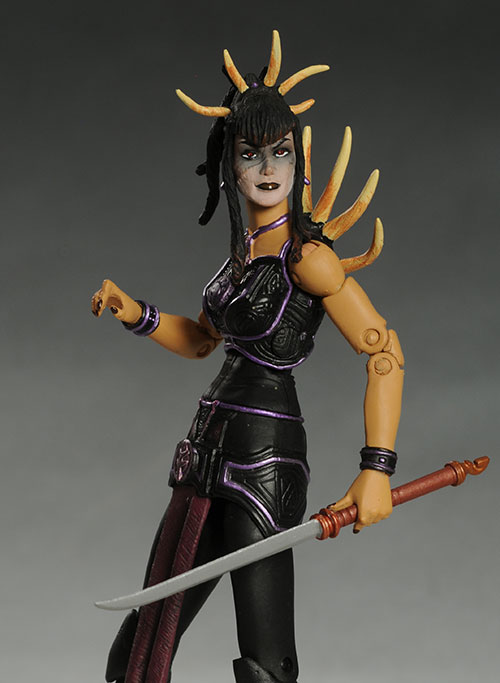 Queen Alluxandra, Isadorra Seventh Kingdom action figure by the Four Horsemen
