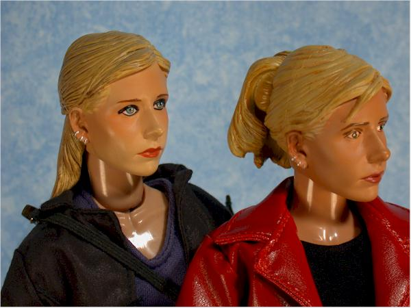 Sideshow buffy action figure