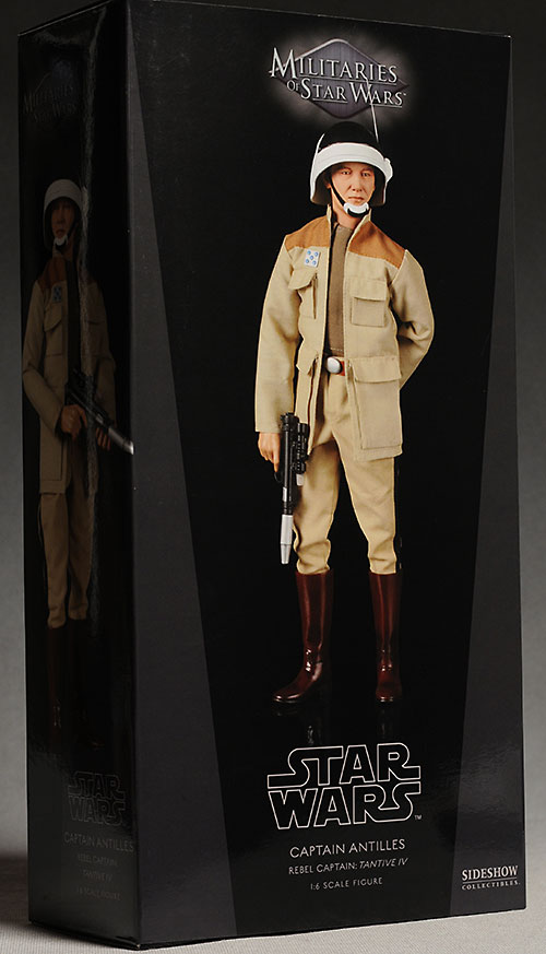 anStar Wars Captain Antilles 1/6th scale action figure by Sideshowtilles