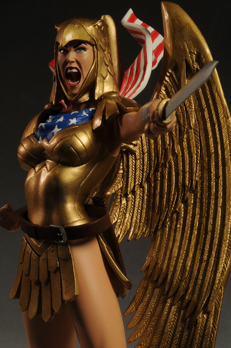 DC Cover Girls Armored Wonder Woman statue by DC Direct