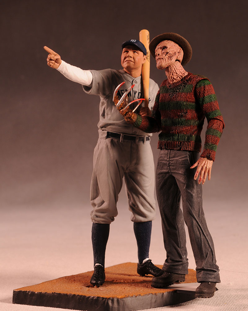 Cooperstown Babe Ruth action figure by McFarlane