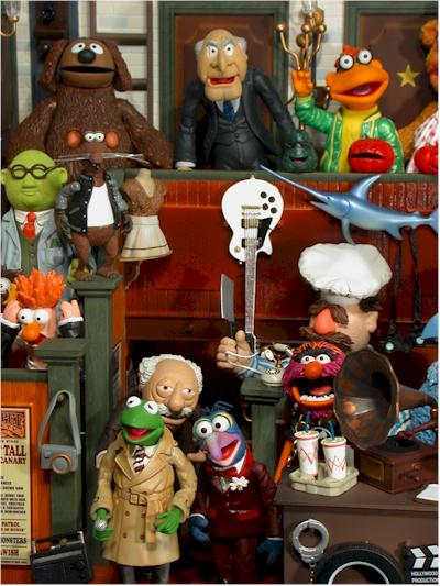 Muppets action figures