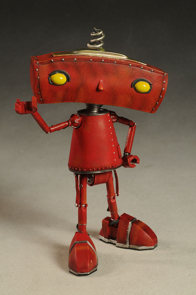 Quantum Mechanix Bad Robot statue