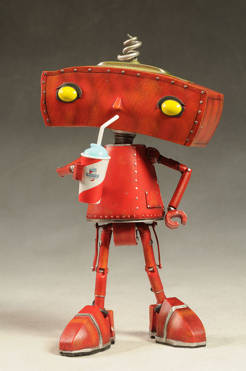 Bad Robot maquette statue by Qmx