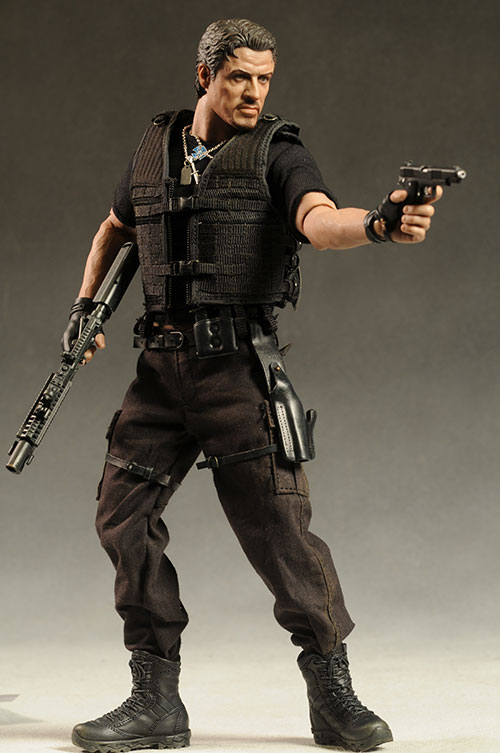 Expendables Barney Ross action figure by Hot Toys