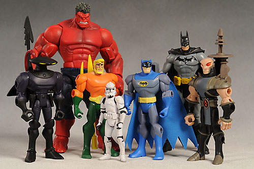 Batman Brave and the Bold action figures by Mattel