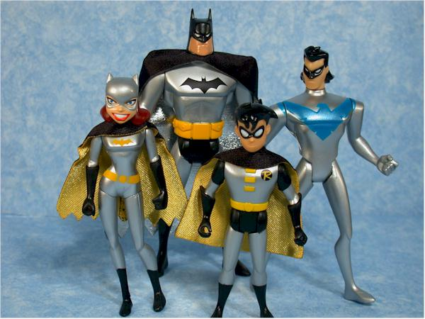 Mattel Gotham City 4 pack action figures