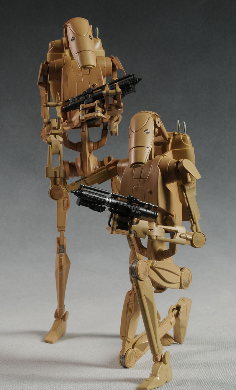 Star Wars Droids Toys : Review and photos of star wars battle droids sixth scale