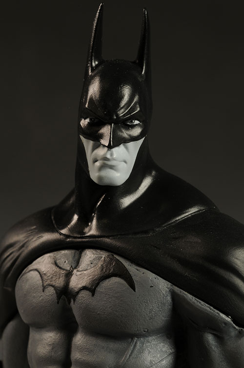 Batman Black and White Arkham Asylum statue by DC Direct