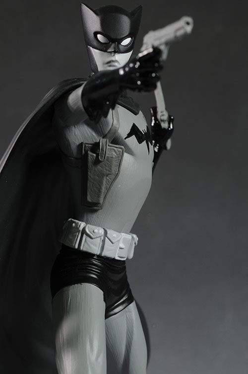 Batman Black and White Chiang statue by DC Direct