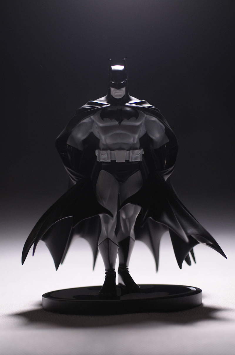 Batman Black and White Perez Statue