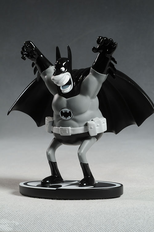 Batman Black & White Sergio Aragones statue by DC Direct