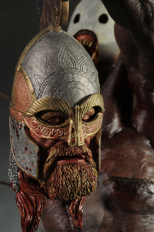 Lord of the Rings Berserker Uruk-Hai Premium Format Statue by Sideshow Collectibles