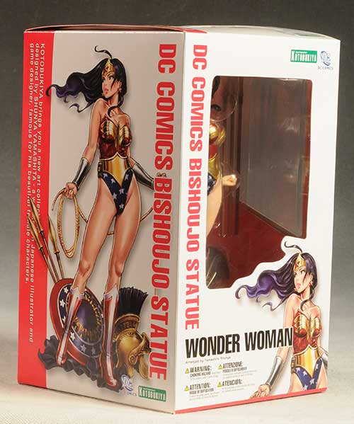 DC Bishoujo Wonder Woman statue by Kotobukiya