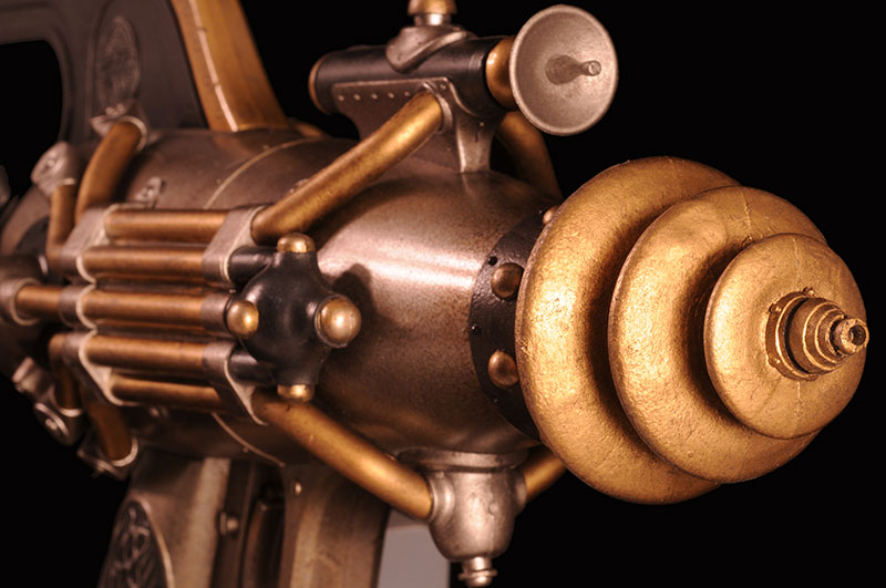 Dr. Grordbort's Righteous Bison Ray Gun by Weta