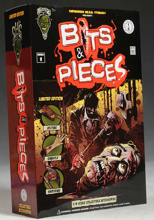 Bits and Pieces sixth scale horror accessories by Shrunken Head Studios