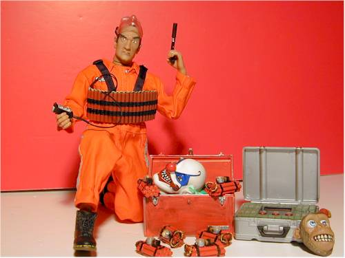 Mad Bomber sixth scale action figure by 21st Century