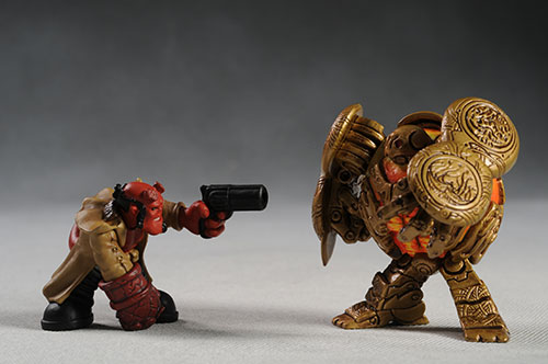 B.P.R.D. Buddies Hellboy action figures by Mezco