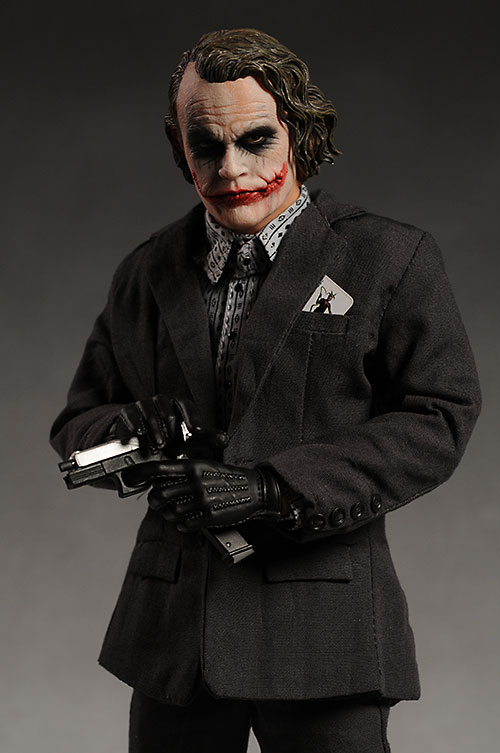 Dark Knight Bank Robber Joker 1/6th action figure by Hot Toys