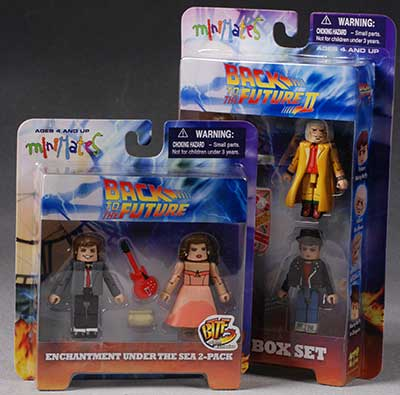 Back to the Future mini-mate figures by DST