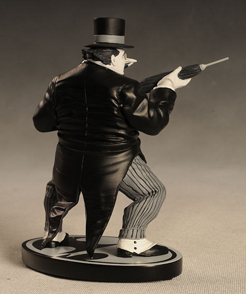 Penguin Batman Black and White statue by DC Direct