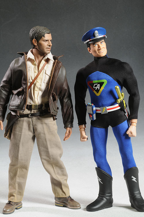 Captain Action deluxe action figure set by Round 2