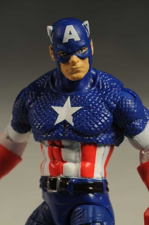 First Avenger Captain America action figure by Hasbro