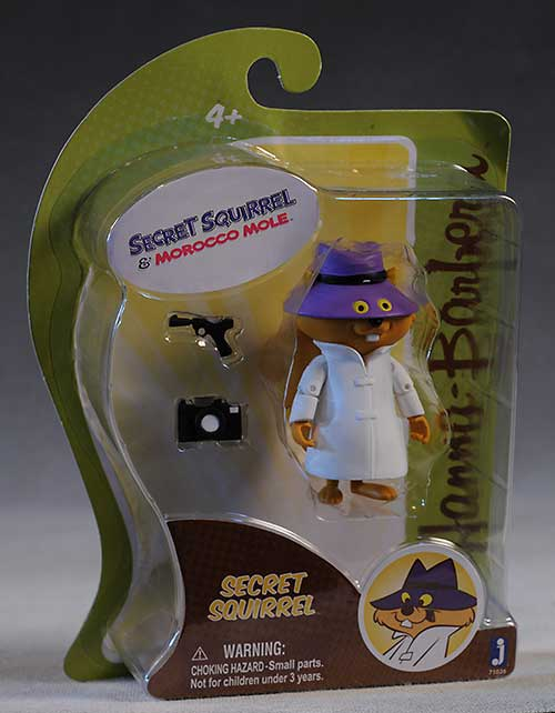 Captain Caveman, Secret Squirrel action figures by Jazwares