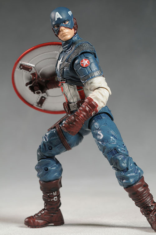 Captain America, Red Skull Marvel Select figures by DST