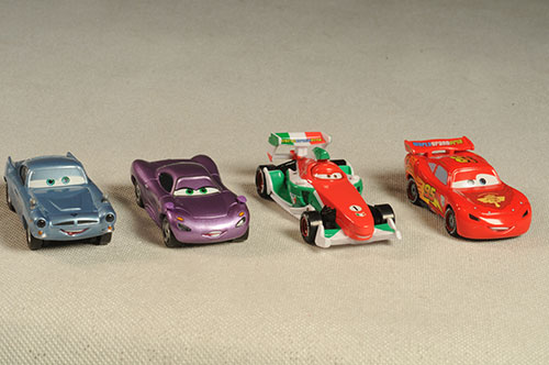 Lights and Sounds Cars 2 die cast vehicles by Mattel