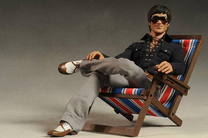 Bruce Lee Casual Wear action figure by Hot Toys