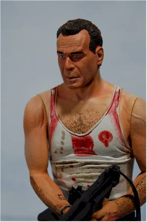 John McClane action figure  by NECA