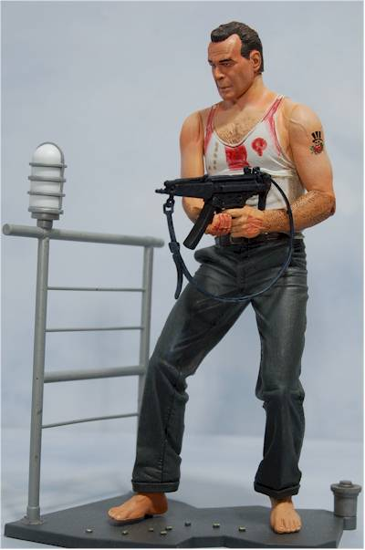 John McClane, Bubba Ho-Tep action figure  by NECA