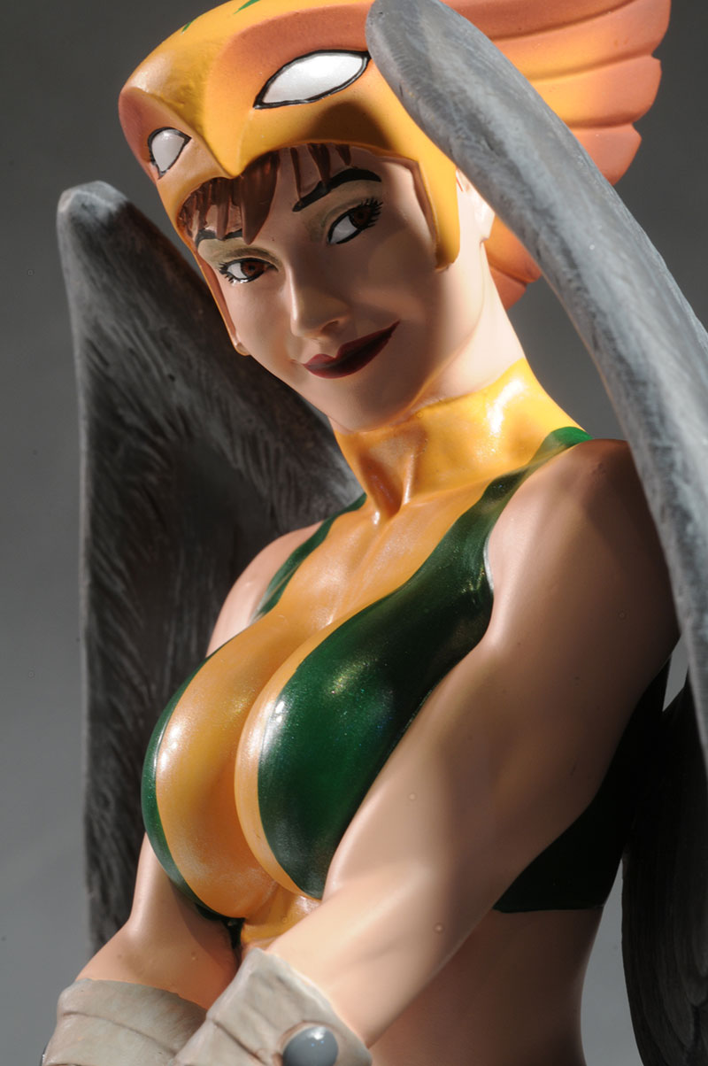 DC Cover Girls Hawkgirl statue by DC Direct