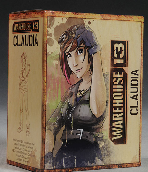 Warehouse 13 Claudia statue by QMX