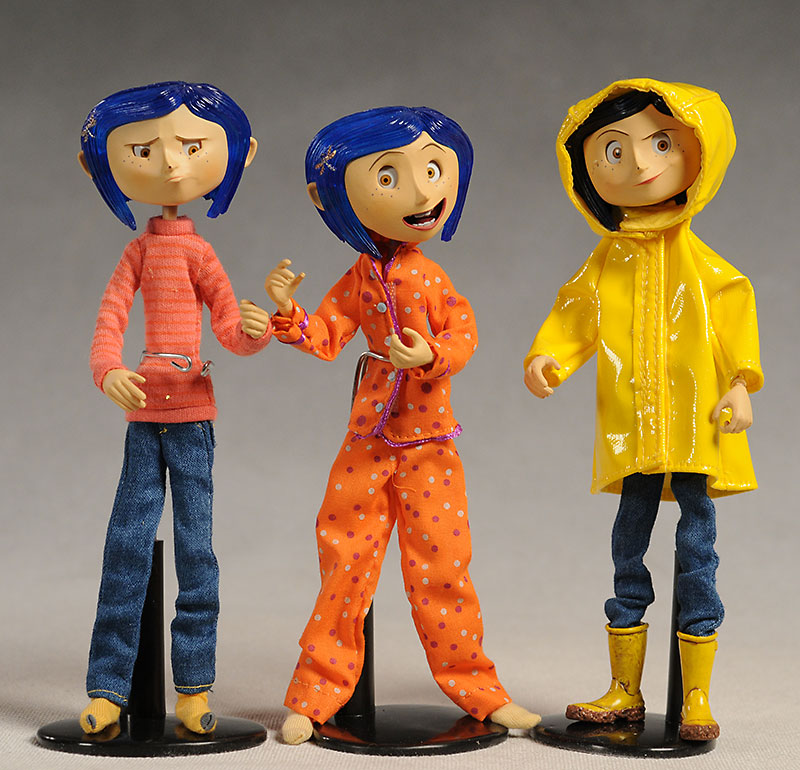 Review And Photos Of Neca Coraline 7 Inch Dolls