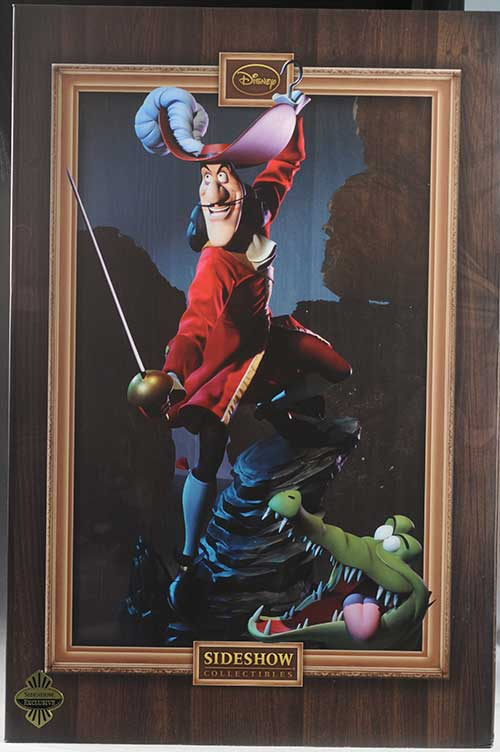 Captain Hook premium format statue by Sideshow