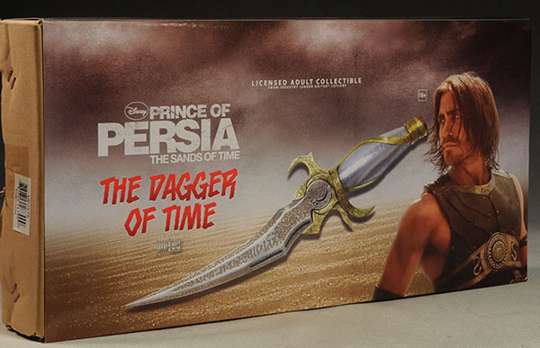 Review And Photos Of United Cutlery Prince Of Persia Dagger Of