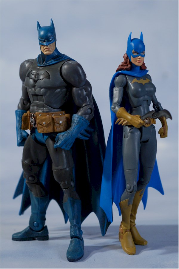 DCSH Batman, Batgirl action figures