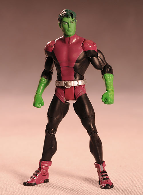 DC Universe Classics Wave 10 Beast Boy action figure by Mattel