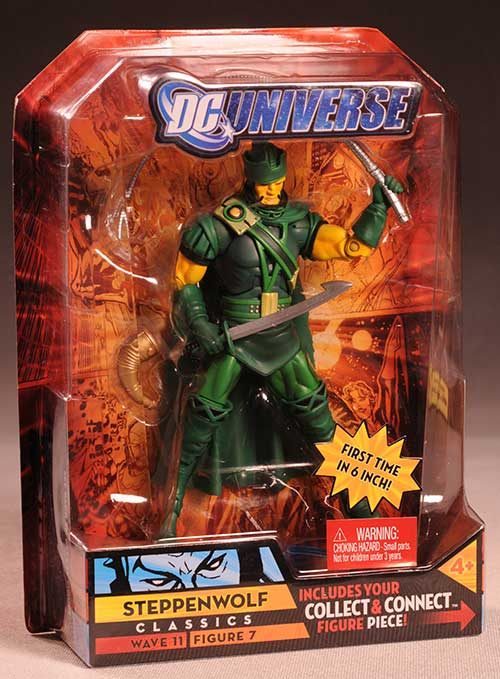 DCUC Steppenwolf action figure by Mattel
