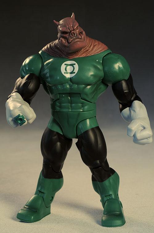 Review and photos of John Stewart Green Lantern, Katma Tui Green Lantern, Deadman, Kilowog ...