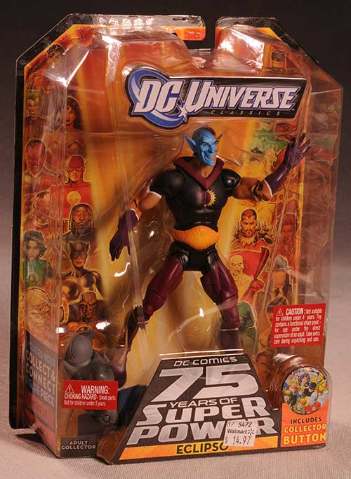 Eclipso action figure by Mattel
