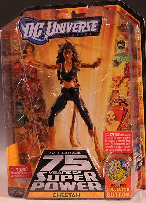 DCUC Cheetah action figure by Mattel