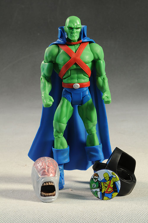 DCUC Raven, Jemm, Batman, Martian Manhunter figure by Mattel