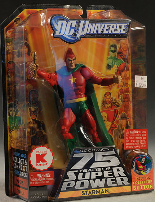 DCUC Starman, Validus, OMAC, Pharaoh action figure by Mattel