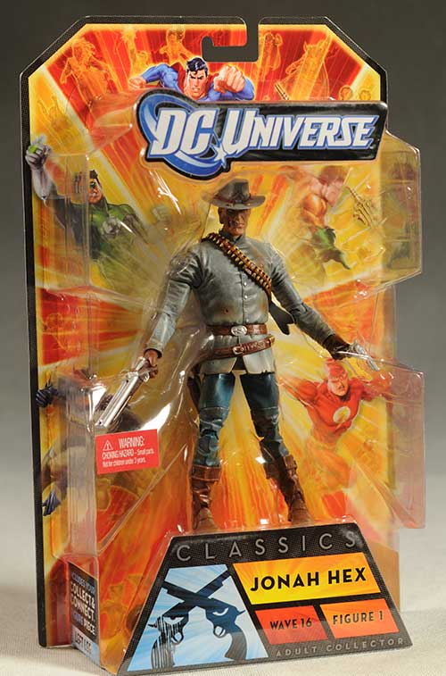 Jonah Hex, Creeper, Bane, Robin action figures by Mattel
