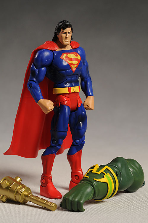 DCUC Superman action figure by Mattel